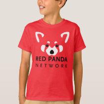 Kids Red Panda Shirt Red