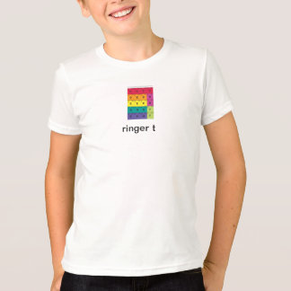 kids ringer, sno sku filter. back view T-Shirt