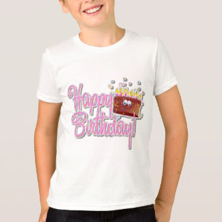 Kids Ringer T-Shirt Round Neck Short Sleeves Loose