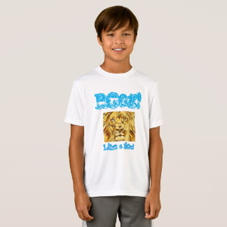 "Kids ""Roar like a lion"" shirt"