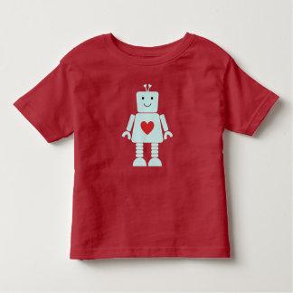 Kids Robot Valentine Shirt