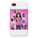 Kids Rock Art Cover For iPhone 4