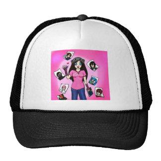 Kids Rock Art Trucker Hat