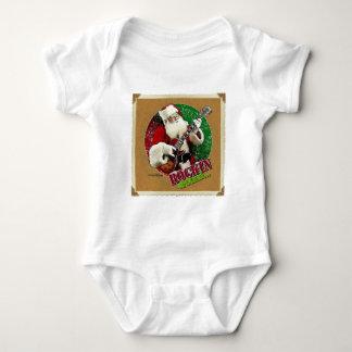 Kids Rockin Santa Baby Bodysuit