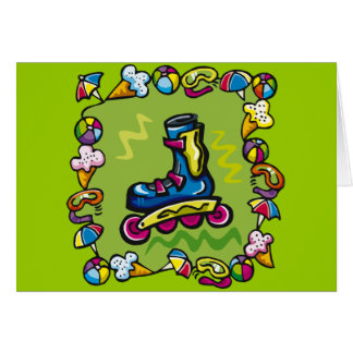 Kids Rollerblade T Shirts and Kids Gifts Card