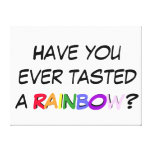 Kid's Room Canvas - Have You Ever Tasted A Rainbow Stretched Canvas Print