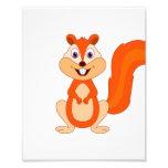 Kids Room Nursery Cute Squirrel Photo Print