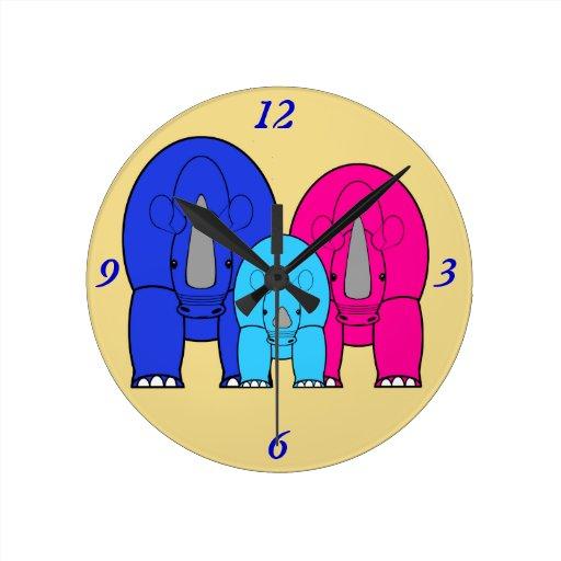 Kid's Room Wall Clock