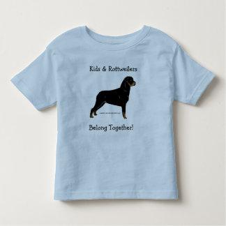 Kids & Rottweilers Belong Together! Shirt