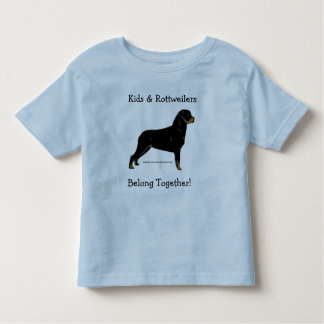 Kids & Rottweilers Belong Together! Tees