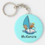 kids sailing keychain