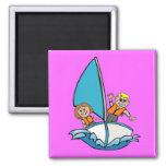 kids sailing magnets
