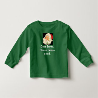 Kids' Santa Christmas Shirt is Cute and Funny