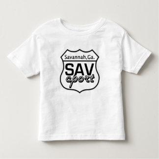 Kids SAV Cport Sign Logo Toddler T-shirt