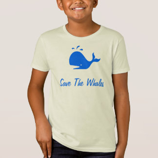 Kids  Save The Whales T-Shirt