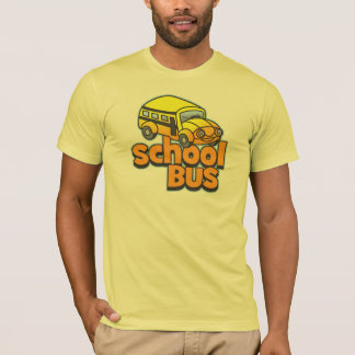 Kids School Bus T-Shirt