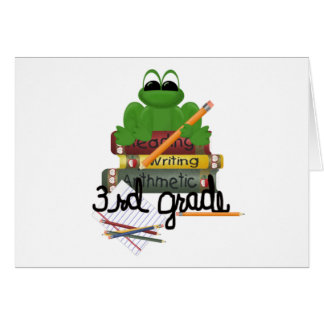 Kids School Clothes Greeting Card