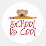 Kids School Gift Classic Round Sticker