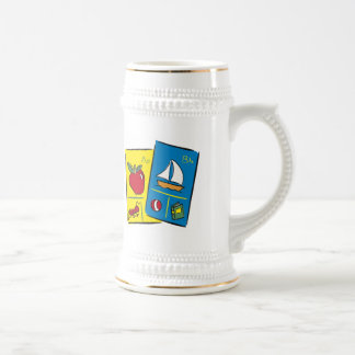 Kids School T Shirts and Kids Gifts Beer Stein
