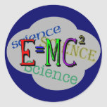 Kids Science T Shirts and Kids Gifts Classic Round Sticker