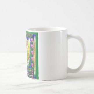 kids SCRABBLE art ; LOTUS bright symbols Coffee Mug