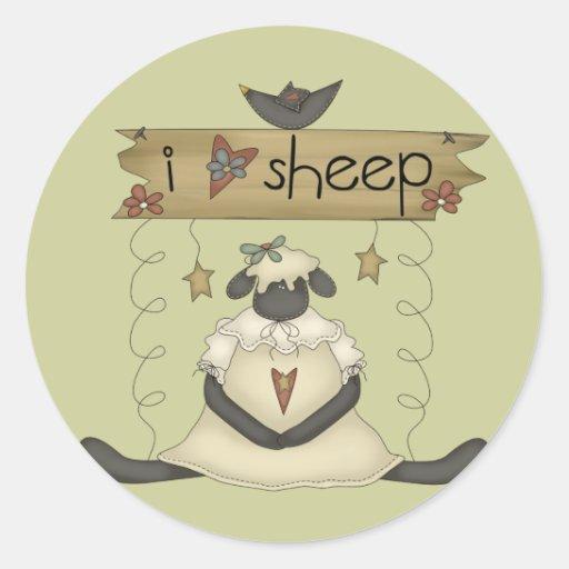 Kids Sheep T Shirts and Gifts Sticker