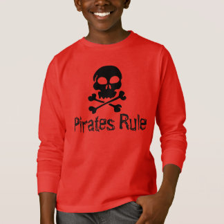 Kids Shirt Pirates Rule
