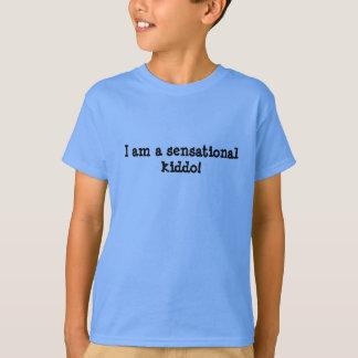 Kids shirt SPD I am a sensational kiddo!