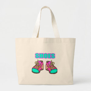 Kids Shoes Tote Bag bag