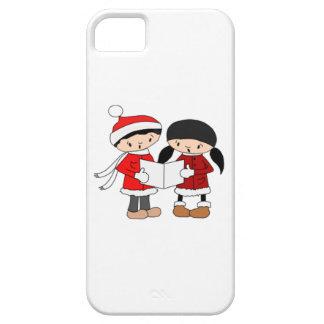 Kids Singing Christmas Carols iPhone 5 Case