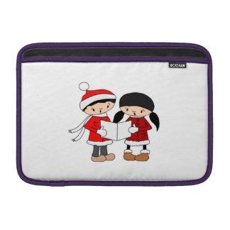 Kids Singing Christmas Carols MacBook Air Sleeve