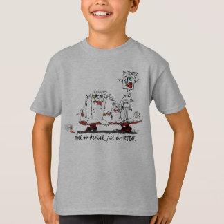Kids Skate Shirt Skateboarding T Shirt