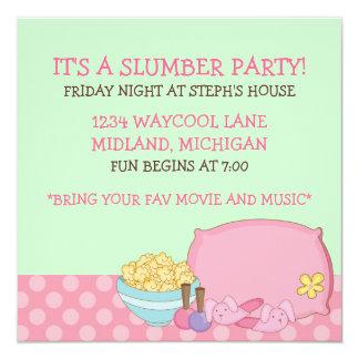Kids Slumber Party Invitations