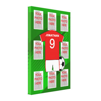 Kids soccer Bedroom Collection 1 Canvas Print