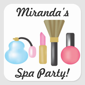 Kids Spa Party Sticker