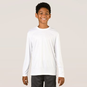 Beach Themed Kids' Sport-Tek Competitor Long Sleeve T-Shirt