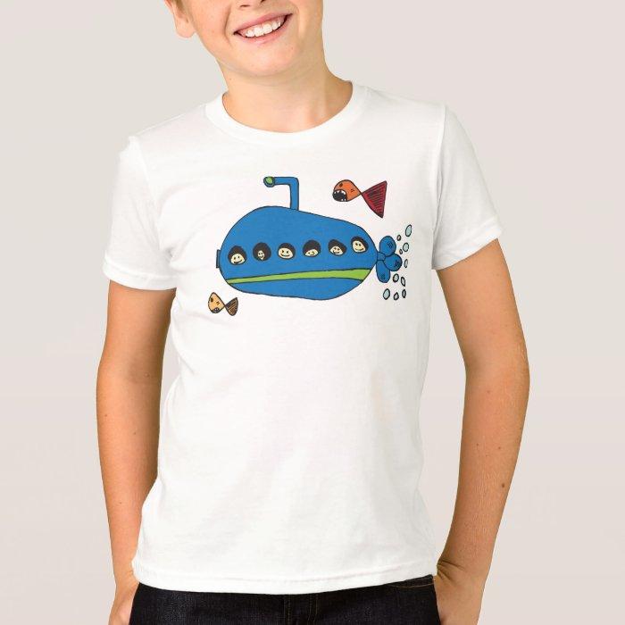 Kids Submarine Ringer T-Shirt