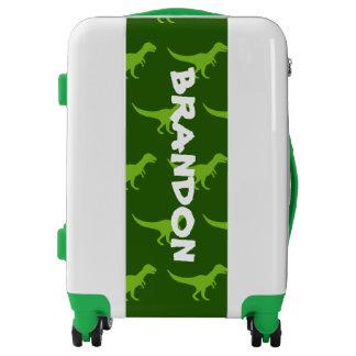 Kid's suitcase with dinosaurs | Custom luggage