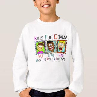 KIDS SUPPORT PRESIDENT OBAMA SWEATSHIRT