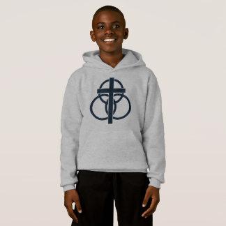 Kid's Sweatshirt: Modern Logo Hoodie