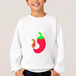 Kids Sweatshirt Vertical Hot Jalapeno