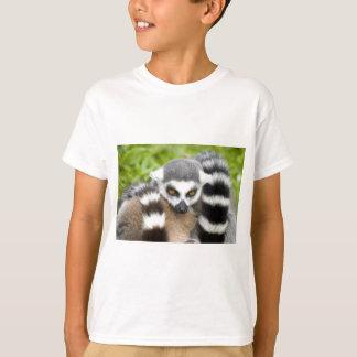 Kids T-Shirt - Cute Lemur Stripey Tail