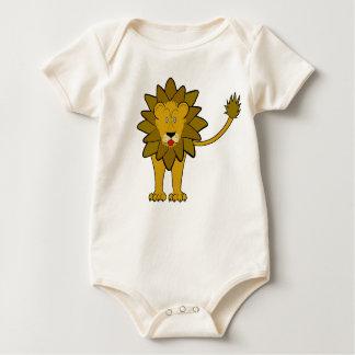 "kid's t-shirt ""funny lion"""