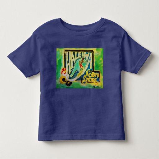 kids t shirt haleiwa hawaii north shore oahu zazzle