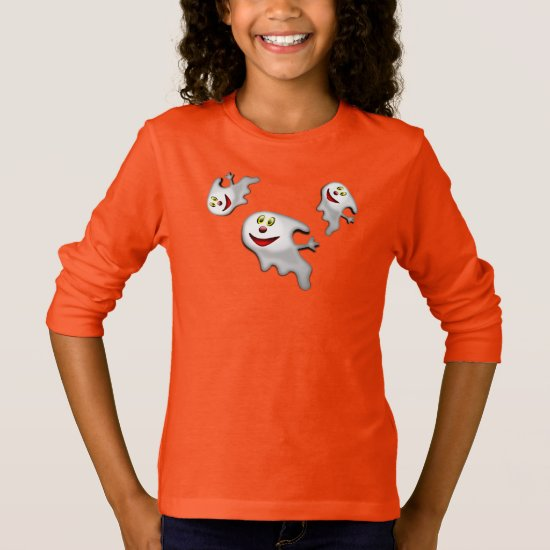 Kids T-Shirt-Halloween Ghosts T-Shirt