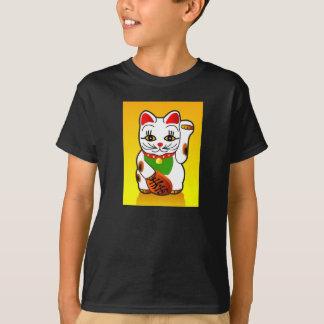 Kids' t-shirt Japanese Maneki Neko cat
