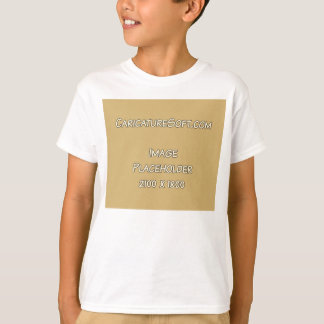 Kid's T-Shirt Landscape Orientation