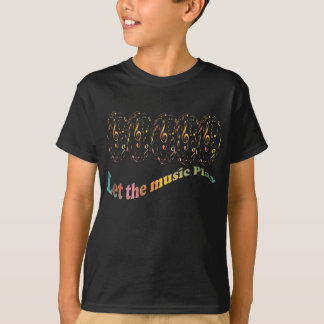 kids-T-shirt - Let the music play T-Shirt