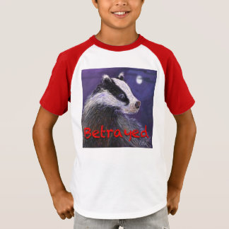 Kids' T-Shirt - Never Forget the Badger Cull