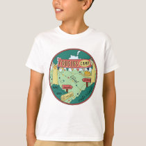 Kid's T-Shirt Summer Camp Personalize